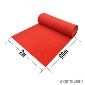 Rollos de Moqueta Ferial 2x60m